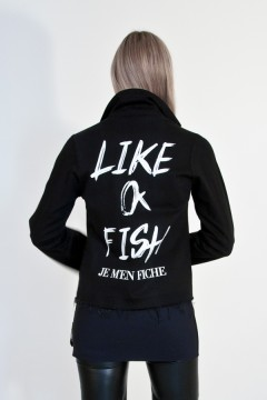 JEANS 1 LIKE A FISH Veste perfecto jeans manches longues